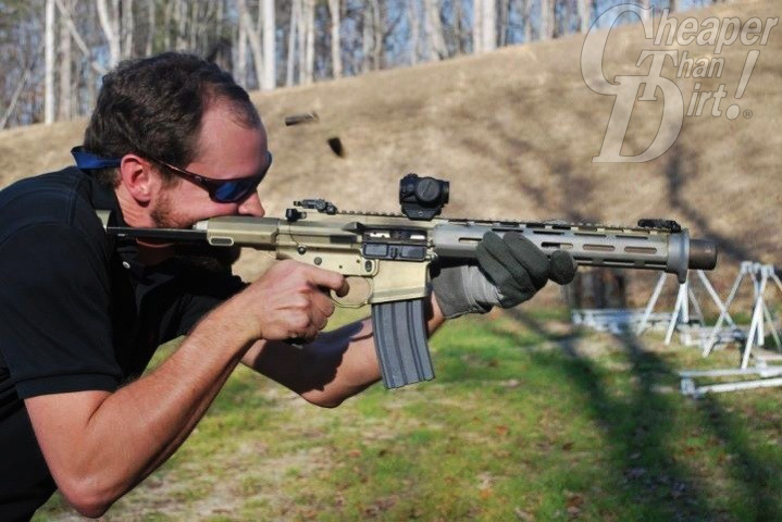 The AAC Honey Badger in .300 Blackout