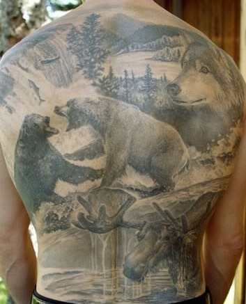 bears tatoo