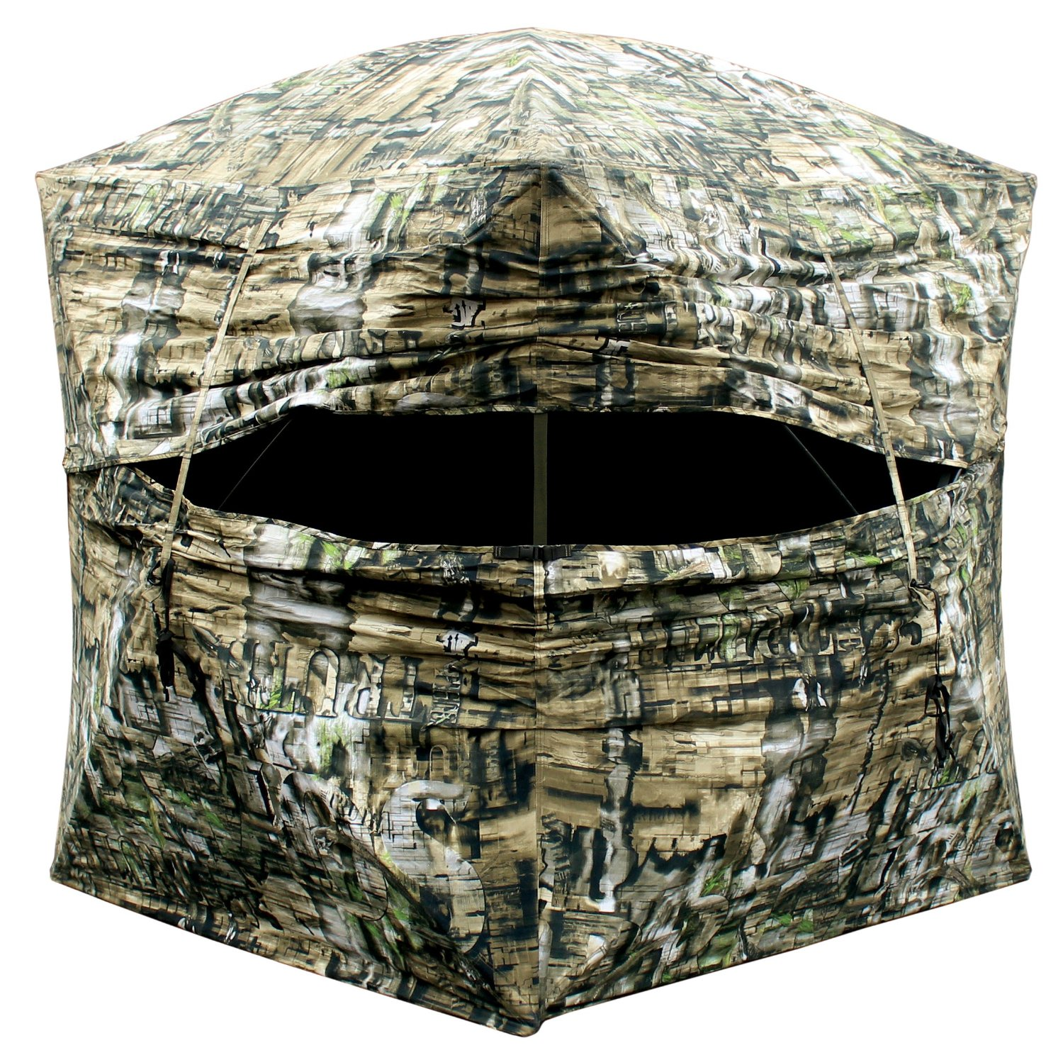 hunting win focuses their and homemade bow the attention calms six a down decoy deer away effective ground blinds from strategies myhomedesign blind