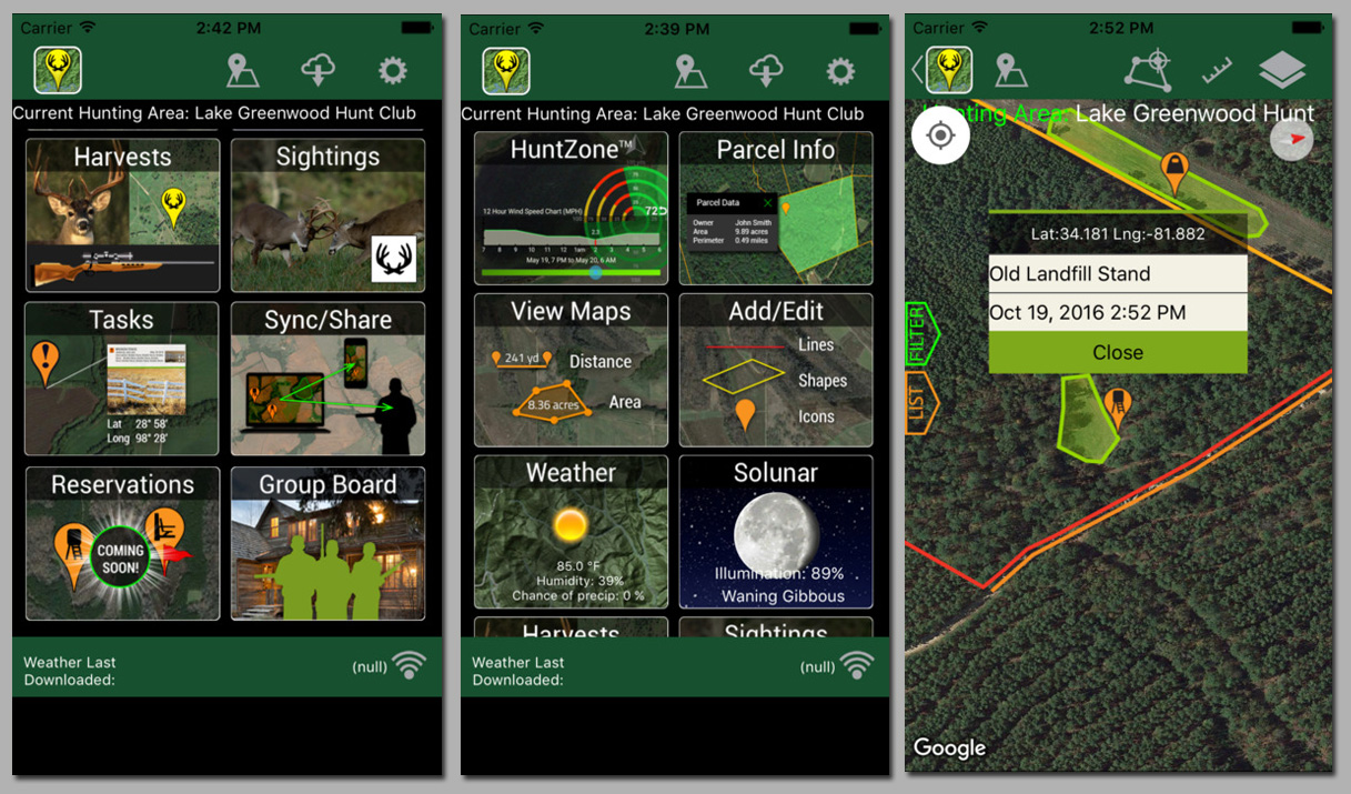 100 onxmaps hunt premium state specific hunt premium app for Hunting and fishing apps