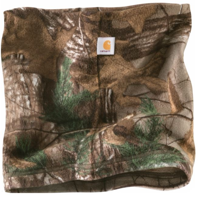fleece camo neck gaiter